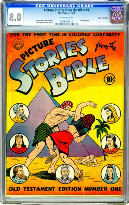 CGC Graded Comics - Picture Stories from the Bible #1 (CGC)