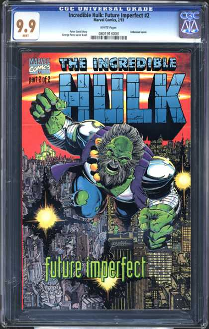 CGC Graded Comics - Incredible Hulk: Future Imperfect #2 (CGC)