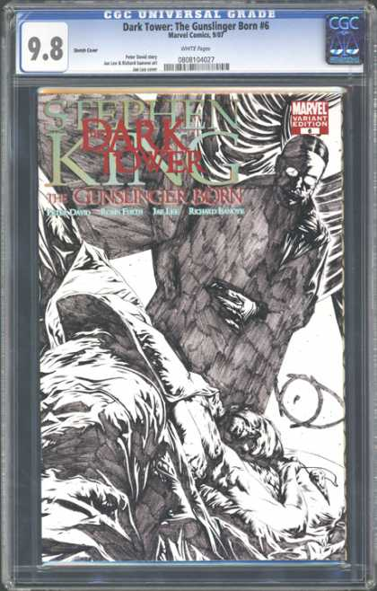 CGC Graded Comics - Dark Tower: The Gunslinger Born #6 (CGC) - Stephen King - Dark Tower - The Gunslinger - Birth - Daark