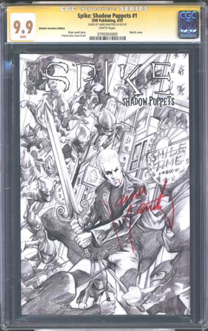CGC Graded Comics - Spike: Shadow Puppets #1 (CGC)
