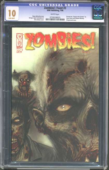 CGC Graded Comics - Zombies!: Feast #3 (CGC)