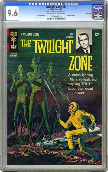 CGC Graded Comics - Twilight Zone #15 (CGC)
