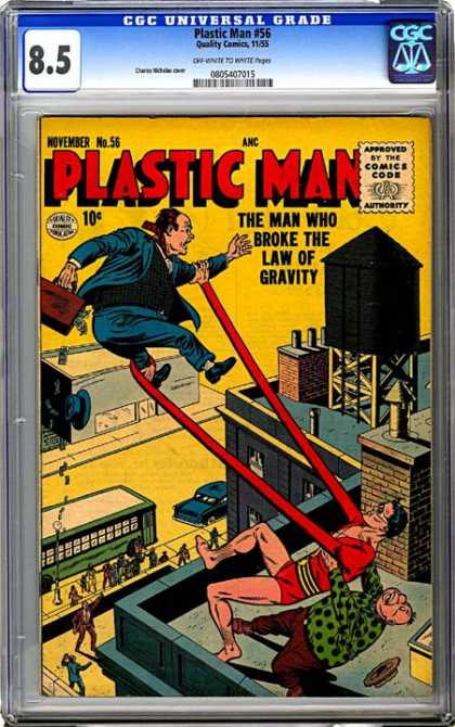 CGC Graded Comics - Plastic Man #56 (CGC)