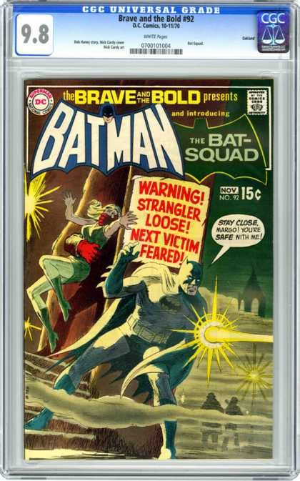 CGC Graded Comics - Brave and the Bold #92 (CGC)
