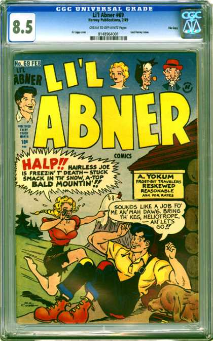 CGC Graded Comics - Li'l Abner #69 (CGC)