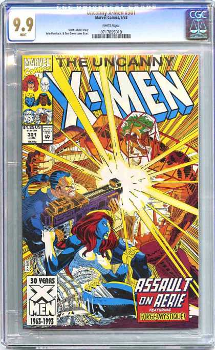 CGC Graded Comics - Uncanny X-Men #301 (CGC)