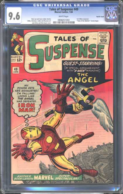 CGC Graded Comics - Tales of Suspense #49 (CGC) - 49 Jan - Ironman - The Angel - Marvel - X-men
