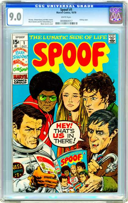 CGC Graded Comics - Spoof #1 (CGC)