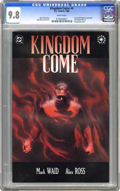 CGC Graded Comics - Kingdom Come #4 (CGC)