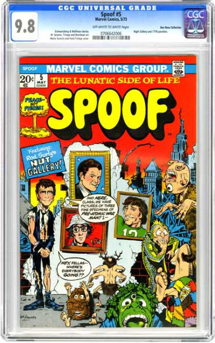 CGC Graded Comics - Spoof #5 (CGC)