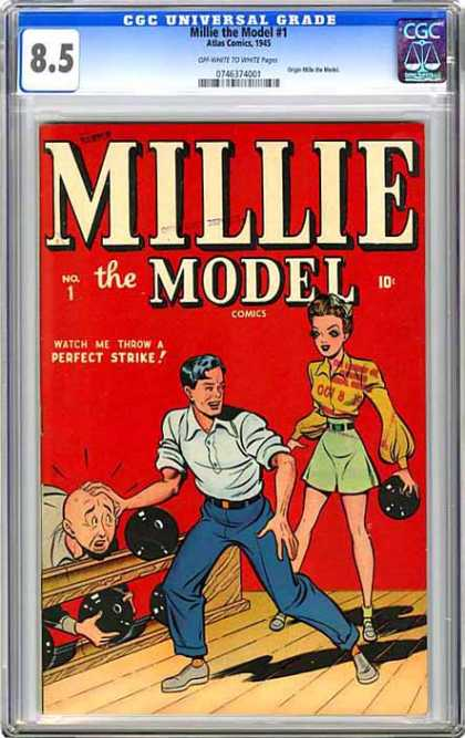 CGC Graded Comics - Millie the Model #1 (CGC) - Millie - Millie Model - Millie Comic Girl - Millie Girl - Mille The Model