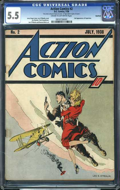 CGC Graded Comics - Action Comics #2 (CGC)