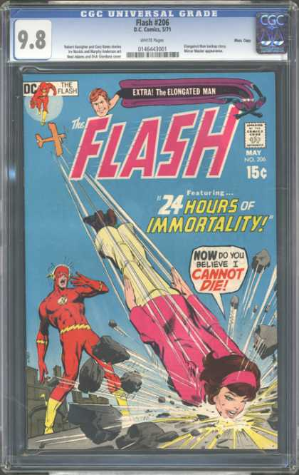CGC Graded Comics - Flash #206 (CGC)