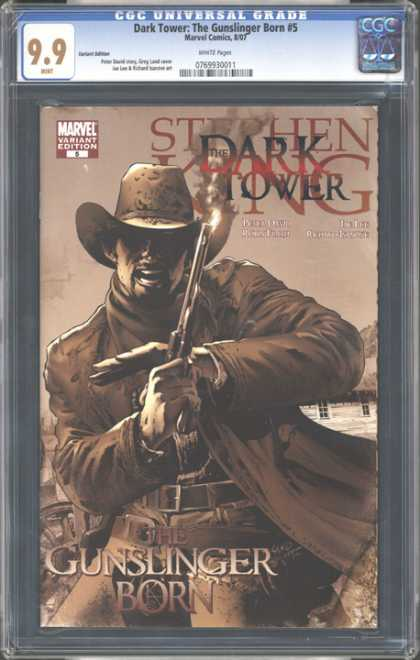 CGC Graded Comics - Dark Tower: The Gunslinger Born #5 (CGC)