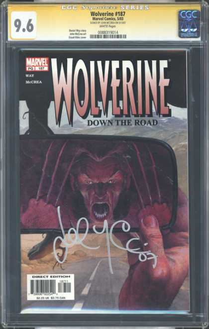 CGC Graded Comics - Wolverine #187 (CGC)