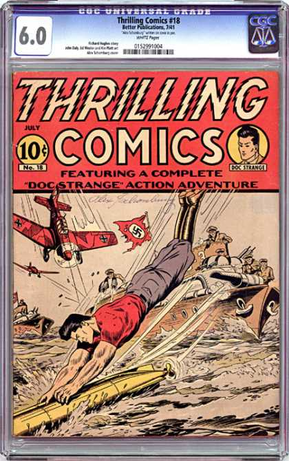 CGC Graded Comics - Thrilling Comics #18 (CGC)
