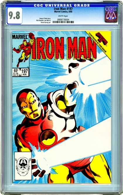 CGC Graded Comics - Iron man #197 (CGC)
