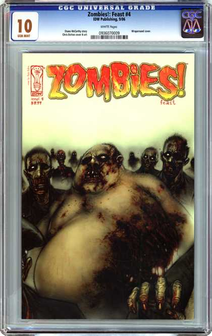 CGC Graded Comics - Zombies!: Feast #4 (CGC)