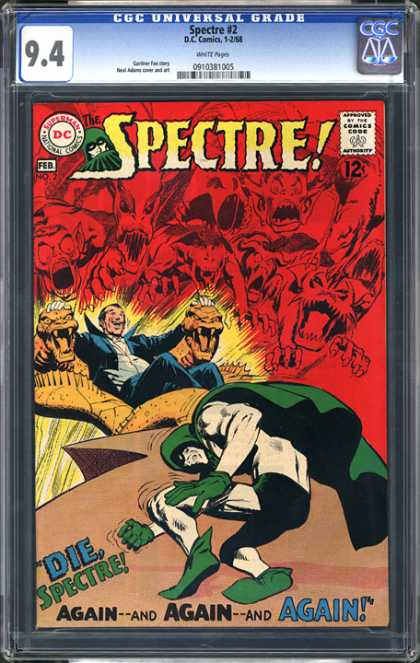 CGC Graded Comics - Spectre #2 (CGC)