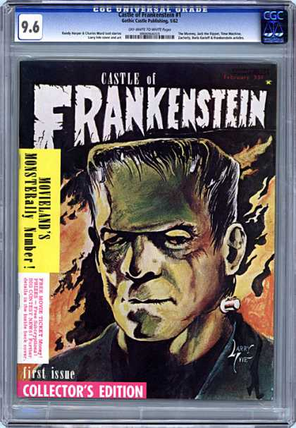 CGC Graded Comics - Castle of Frankenstein #1 (CGC)