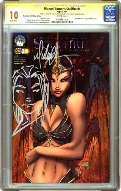 CGC Graded Comics - Michael Turner's Soulfire #1 (CGC)