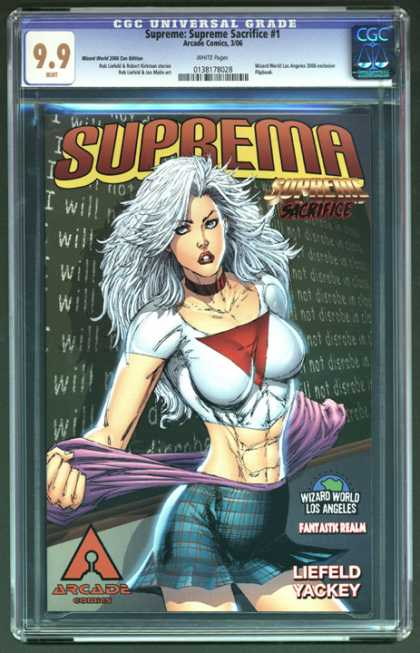 CGC Graded Comics - Supreme: Supreme Sacrifice #1 (CGC)