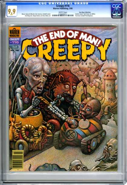 CGC Graded Comics - Creepy #116 (CGC)