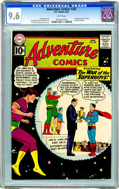 CGC Graded Comics - Adventure Comics #287 (CGC)