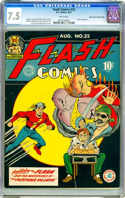 CGC Graded Comics - Flash Comics #32 (CGC)