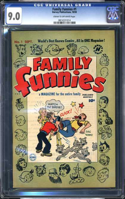 CGC Graded Comics - Family Funnies #1 (CGC)