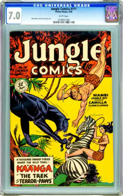 CGC Graded Comics - Jungle Comics #111 (CGC)