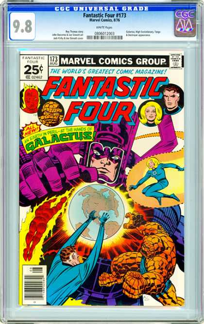 CGC Graded Comics - Fantastic Four #173 (CGC)