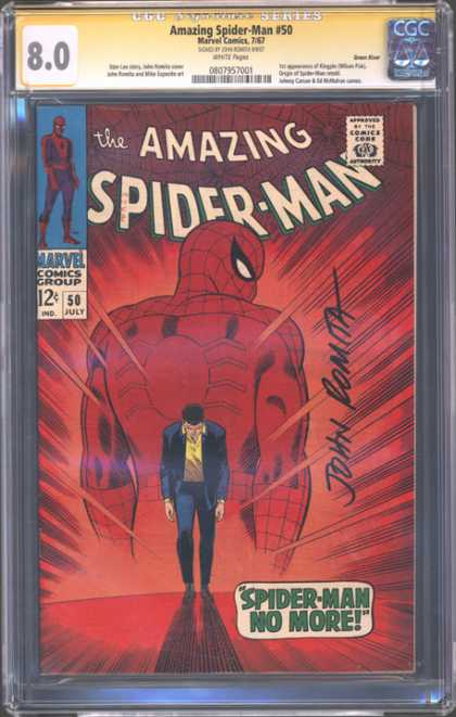CGC Graded Comics - Amazing Spider-Man #50 (CGC) - Spider-man - Spider-man No More - Spider - Man - John Romita