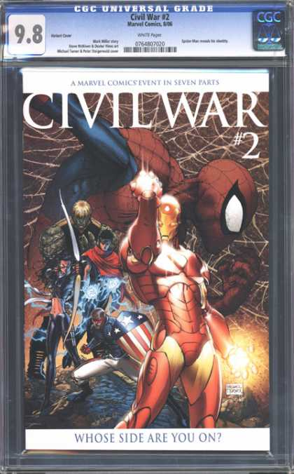 CGC Graded Comics - Civil War #2 (CGC)