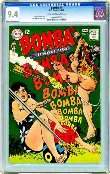 CGC Graded Comics - Bomba #4 (CGC)
