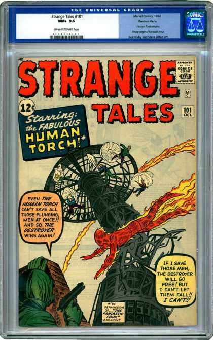 CGC Graded Comics - Strange Tales #101 (CGC)