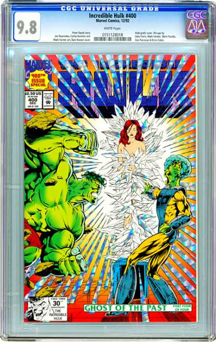 CGC Graded Comics - Incredible Hulk #400 (CGC)
