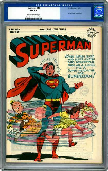 CGC Graded Comics - Superman #40 (CGC)