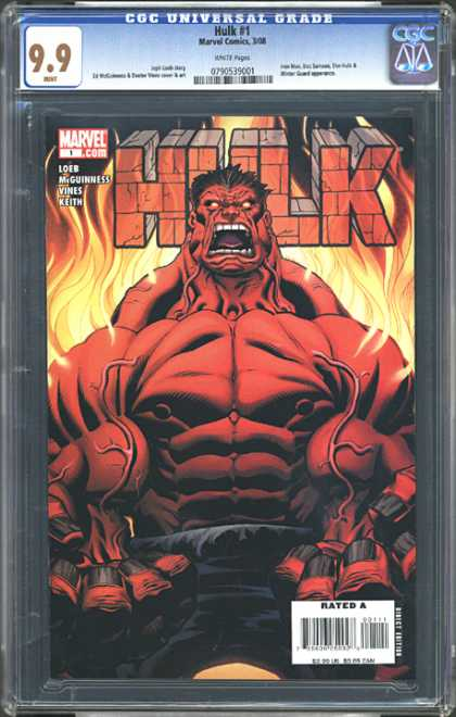 CGC Graded Comics - Hulk #1 (CGC)