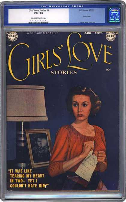 CGC Graded Comics - Girls' Love Stories #1 (CGC)
