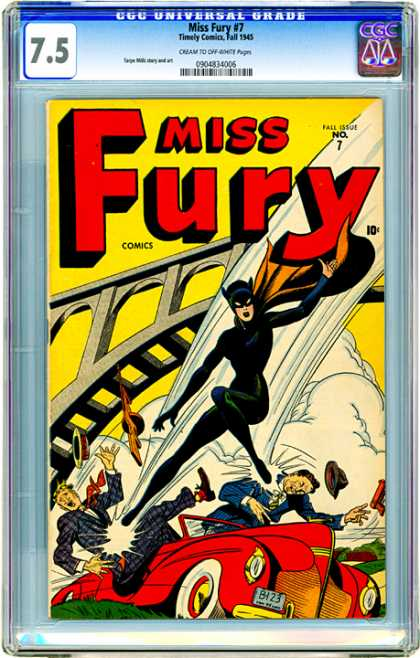 CGC Graded Comics - Miss Fury #7 (CGC)