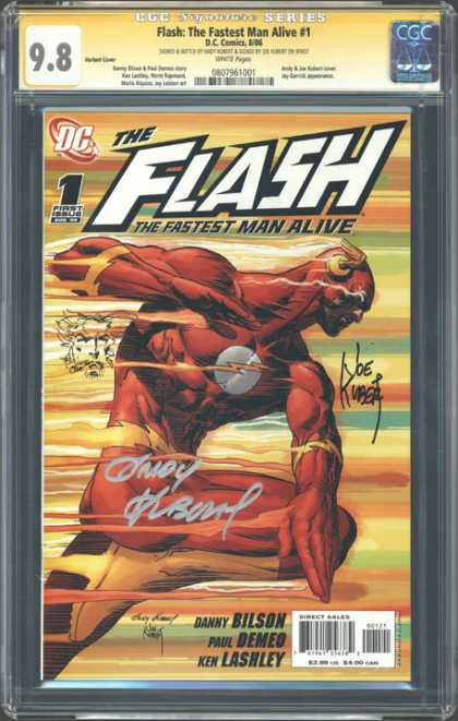 CGC Graded Comics - Flash: The Fastest Man Alive #1 (CGC) - Dc - The Flash - The Fastest Man Alive - Danny Bilson - Ken Lashley