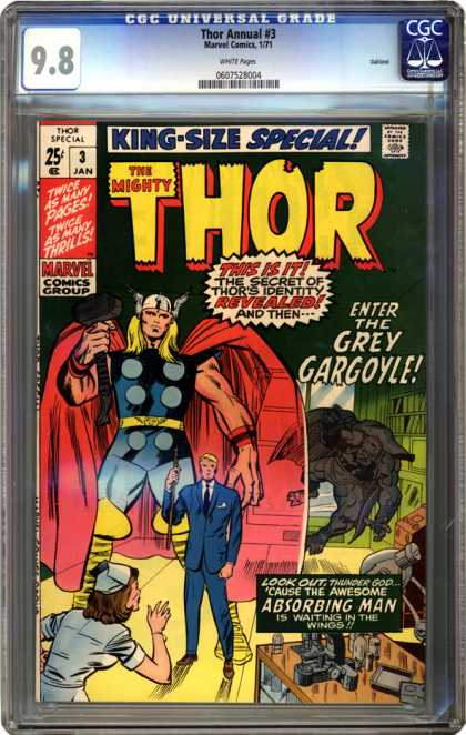 CGC Graded Comics - Thor Annual #3 (CGC)