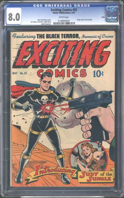 CGC Graded Comics - Exciting Comics #55 (CGC)