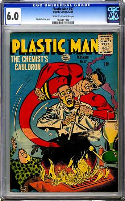 CGC Graded Comics - Plastic Man #57 (CGC)