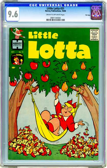 CGC Graded Comics - Little Lotta #31 (CGC)