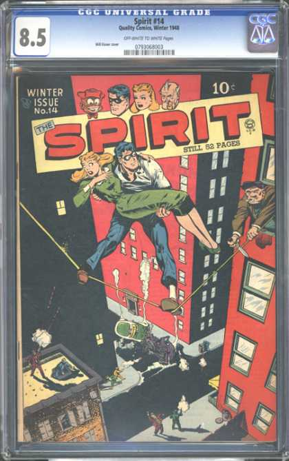 CGC Graded Comics - Spirit #14 (CGC)