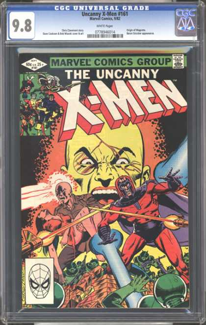 CGC Graded Comics - Uncanny X-Men #161 (CGC)