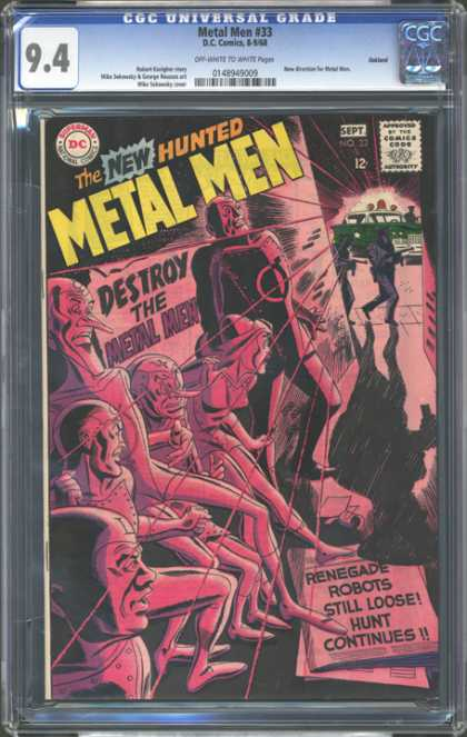 CGC Graded Comics - Metal Men #33 (CGC)