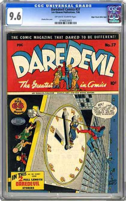 CGC Graded Comics - Daredevil Comics #37 (CGC)